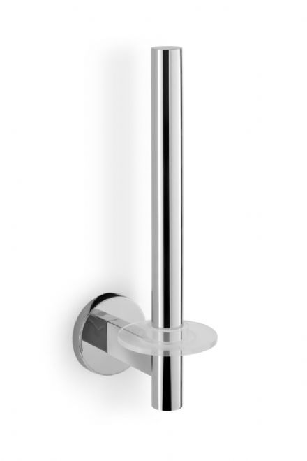 Zack Scala Spare Toilet Roll Holder Polished Stainless Steel